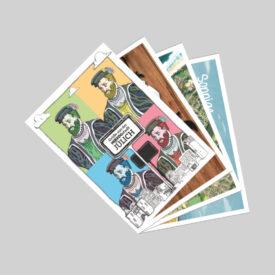 Postkarten Set Sommer